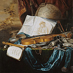 Pieter de Ring - Still Life with Musical Instruments, Part 4