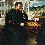 Part 4 - Paris Bordone (1500-1571) - Two chess players