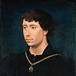 Rogier van der Weyden - Charles the Bold, Duke of Burgundy, Part 4