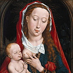 Rogier van der Weyden - Maria with the child, Part 4