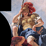 Sebastiano Ricci - The Olympian gods - Minerva, Part 4