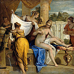 Sebastiano Ricci - Bathsheba in her bath, Part 4