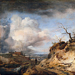 The dunes away, Philips Wouwerman