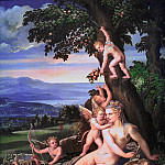 Part 4 - Dossi, Battista (workshop) - Venus and Putti in a Landscape