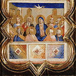 Part 4 - Taddeo Gaddi (1300-1366) - The outpouring of the Holy Spirit