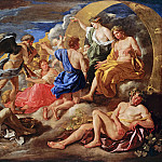 Nicolas Poussin - Helios and Phaeton with Saturn and the Four Seasons, Part 4