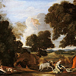 Nicolas Poussin - Landscape with Juno and the slain Argus, Part 4