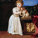 Part 4 - Tizian (1488-90-1576) - Clarissa Strozzi at age 2 years