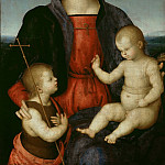 Part 4 - Raffael (1483-1520) - Maria with the child who blesses the boy John (Madonna Diotalevi)