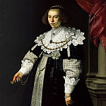 Nicolaes Eliasz Pickenoy - Portrait of Catharina Hooft, Part 4
