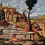 Vittore Carpaccio - Lamentation, Part 4
