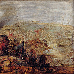 Peter Paul Rubens - The Conquest of Tunis by Charles V , Part 4