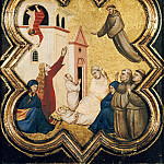 Part 4 - Taddeo Gaddi (1300-1366) - A miracle from the legend of St. Francis