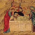 Ugolino di Nerio - The Entombment of Christ, Part 4