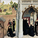 Simon Marmion - Scenes from the Life of St Bertin, Part 4