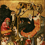 Part 4 - Niederrheinischer master, 15th cent. - The Holy Family with Angels