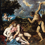 Part 4 - Paris Bordone (1500-1571) - Mars and Venus, Volcano surprise