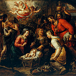 Pieter van Lint - The Adoration of the Shepherds, Part 4