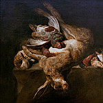 Boel, Pieter - Still Life with Dead Hare, Part 4