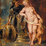 Mars, Venus and Cupid, Peter Paul Rubens