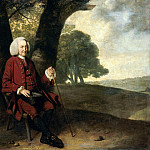 Dr. Thomas Hanson from Canterbury, Johann Zoffany