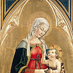 Pier Matteo da Amelia - Enthroned Madonna with Child, Part 4