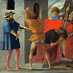 Predella panel from the Pisa Altar, Tommaso Masaccio