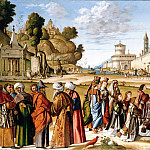 Vittore Carpaccio - The Ordination of St. Stephen as a deacon, Part 4