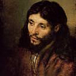 Part 4 - Rembrandt (1606-1669) - Head of Christ