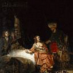 Rembrandt - Joseph and Potiphars wife, Part 4