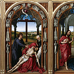 Part 4 - Rogier van der Weyden (1400-1464) - Altar of the Virgin - Holy Family, Lamentation of Christ, Christ Appearing to Mary