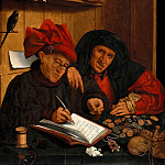 Part 4 - Quentin Massys (1466-1530) - The two tax collectors