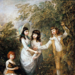 The Marsham Children, Thomas Gainsborough