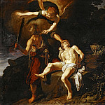 Part 4 Louvre - Pieter Lastman (1583-1633) -- Sacrifice of Isaac