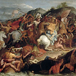 Charles Le Brun -- Crossing the Granicus , Part 4 Louvre