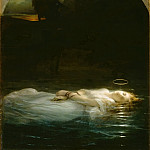Paul Delaroche -- The young martyr, Part 4 Louvre
