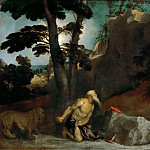 Part 4 Louvre - Titian -- Saint Jerome Penitent