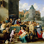 Part 4 Louvre - David Teniers II -- The Works of Mercy