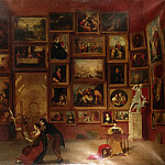 Part 4 Louvre - Morse, Samuel Finley Breese, 1791-1872. -- Exhibition gallery of the Louvre