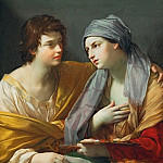 Part 4 Louvre - Guido Reni (1575-1642) -- The Union of Drawing and Color (Disegno and Colorito)