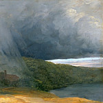 Pierre Henri de Valenciennes -- Thunderstorm over the Lakeshore, Part 4 Louvre
