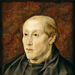 Part 4 Louvre - Jan Gossaert -- Portrait of a Benedictine Monk (Portrait of a 40-Year-Old Monk)