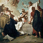 Part 4 Louvre - Giovanni Battista Piazzetta (1682-1754) -- Assumption of the Virgin