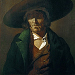 Part 4 Louvre - Théodore Géricault -- Portrait of a Man from the Vendee