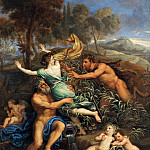 Part 4 Louvre - Pierre Mignard I -- Pan and Syrinx
