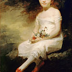 Henry Raeburn -- Innocence, Portrait of Nancy Graham, Part 4 Louvre