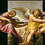 Philippe de Champaigne -- Two music-making Angels, Part 4 Louvre