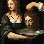 Bernardino Luini -- Salome receives the head of Saint John the Baptist, Part 4 Louvre
