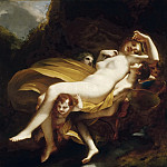Abduction of Psyche, Pierre-Paul Prudhon
