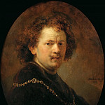 Part 4 Louvre - Rembrandt van Rijn -- Self Portrait